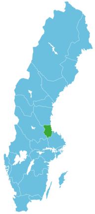 Angeln Schweden Map Gästrikland