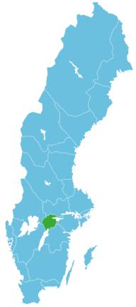 Angeln Schweden Map Närke