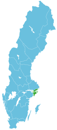 Angeln Schweden Map Stockholm