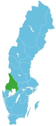 Angeln Schweden Map Värmland