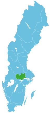 Angeln Schweden Map Västmanland