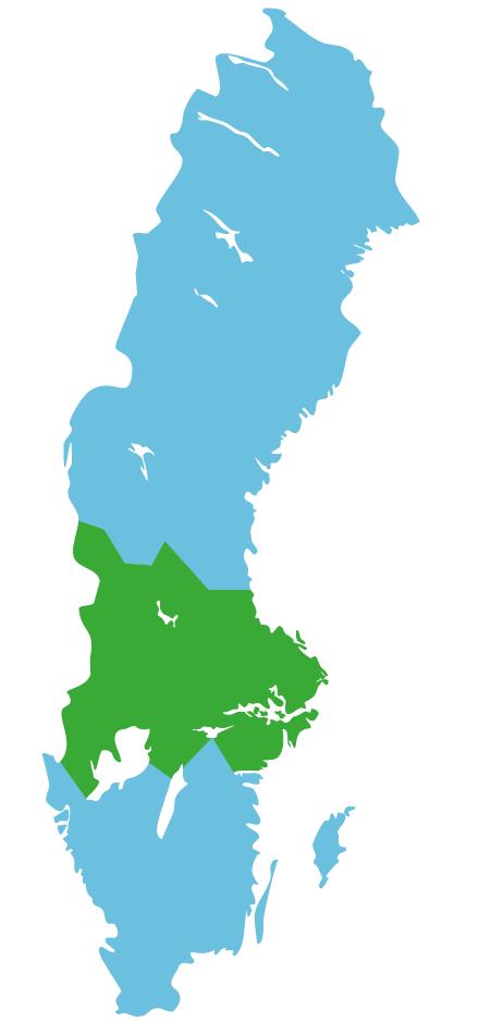 Map mittelschweden