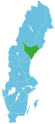 Angeln Schweden Map Ångermanland