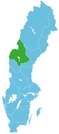 Angeln Schweden Map Jämtland