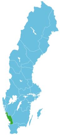 Angeln Schweden Map halland