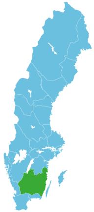 Schweden Map Småland